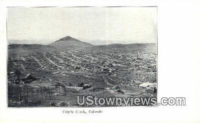 Cripple Creek, Colorado     ;     Cripple Creek, CO Postcard