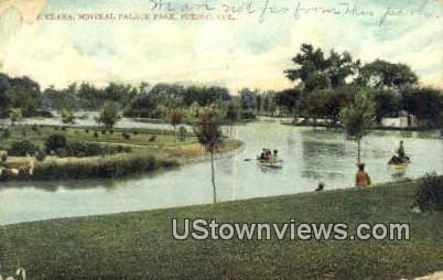 Clara Mineral Palace Park - Pueblo, Colorado CO Postcard