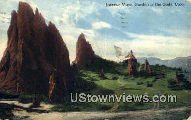 Garden of the Gods, Colorado     ;     Garden of the Gods, CO Postcard