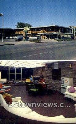 Downtown Motel - Pueblo, Colorado CO Postcard