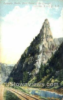 Curecanty Needle - Black Canyon, Colorado CO Postcard