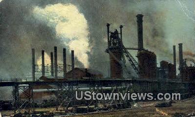Steel Works - Pueblo, Colorado CO Postcard