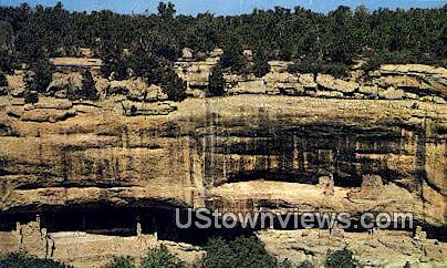 Cortez - Mesa Verde National Park, Colorado CO Postcard