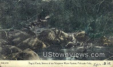 Rapid Creek - Palisade, Colorado CO Postcard