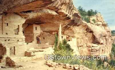 Balcony House Ruin - Mesa Verde National Park, Colorado CO Postcard