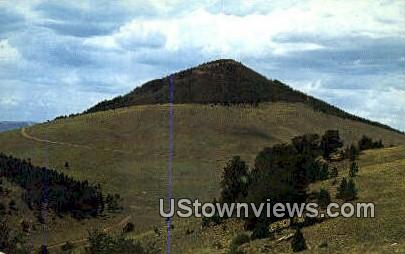 Mt. Pisgah - Cripple Creek, Colorado CO Postcard