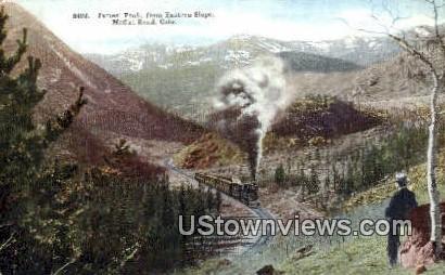 James' Peak - Moffat Road, Colorado CO Postcard