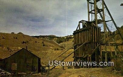 Mining Operation - Cripple Creek, Colorado CO Postcard