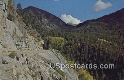 Independence Pass - Aspen, Colorado CO Postcard