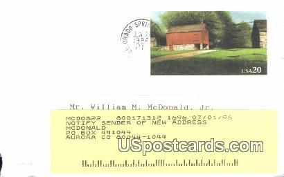 Holy Cross Abbey - Canon City, Colorado CO Postcard