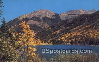 Alpine Lake - Antero Peak, Colorado CO Postcard