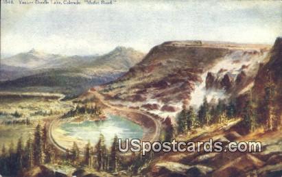 Yankee Doodle Lake - Moffat Road, Colorado CO Postcard
