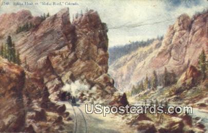 Sphinx Head - Moffat Road, Colorado CO Postcard