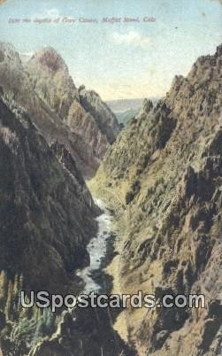 Gore Canon - Moffat Road, Colorado CO Postcard