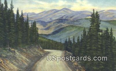 Mt Evans Road - Denver Mountain Parks, Colorado CO Postcard