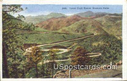 Lariat Trail - Denver Mountain Parks, Colorado CO Postcard