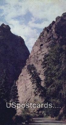 Pillars of Hercules - Pikes Peak Region, Colorado CO Postcard
