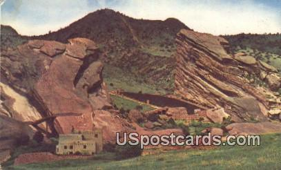 Re Rocks Park - Denver Mountain Parks, Colorado CO Postcard
