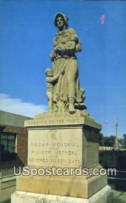 Monument to the Pioneer Mothers - Lamar, Colorado CO Postcard
