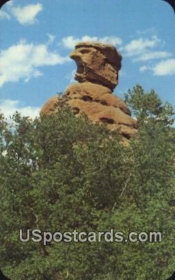 Old Scotchman - Pikes Peak Region, Colorado CO Postcard