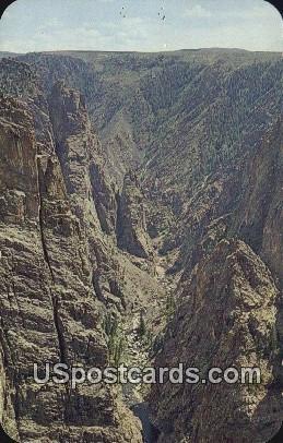 Gunnison River - Black Canyon National Monument, Colorado CO Postcard