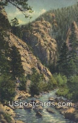 Glacier Circle Trip - Boulder Canon, Colorado CO Postcard