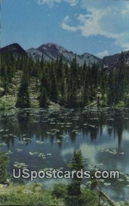 Nymph Lake, Long's Peak - Glacier Gorge, Colorado CO Postcard