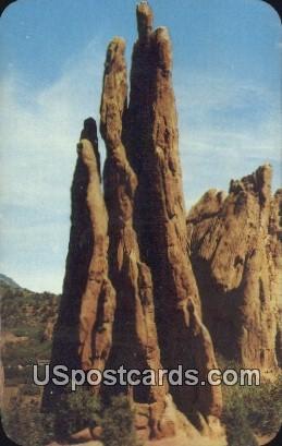 Three Graces - Pikes Peak Region, Colorado CO Postcard