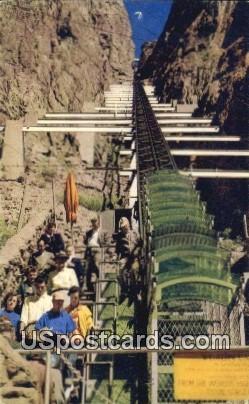 Cable Car, Royal Gorge - Canon City, Colorado CO Postcard