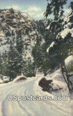North Cheyenne Canon - Pikes Peak Region, Colorado CO Postcard