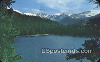Echo Lake - Denver Mountain Parks, Colorado CO Postcard