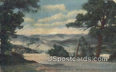 Royal Gorge Road, Pikes Peak - Canon City, Colorado CO Postcard