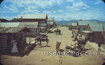 Buckskin Joe mining Town - Canon City, Colorado CO Postcard