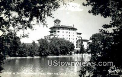 Broadmoor Hotel - Colorado Springs Postcards, Colorado CO Postcard
