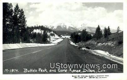 Buffalo Peak - Dillon, Colorado CO Postcard