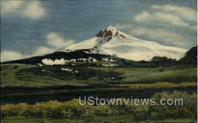 The Lone Cone - Telluride, Colorado CO Postcard