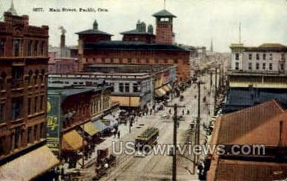 Pueblo, Colorado, CO Postcard