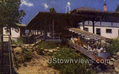 Incline Station - Manitou Springs, Colorado CO Postcard