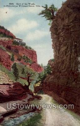 Cave of The Winds in Williams Canon - Colorado CO Postcard