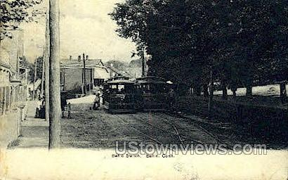 Baltic Switch - Connecticut CT Postcard