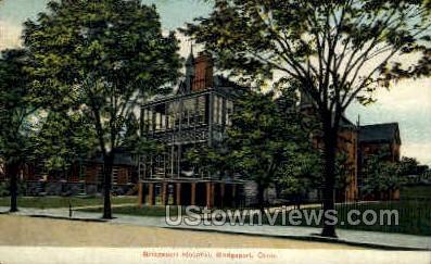 Bridgeport Hospital - Connecticut CT Postcard