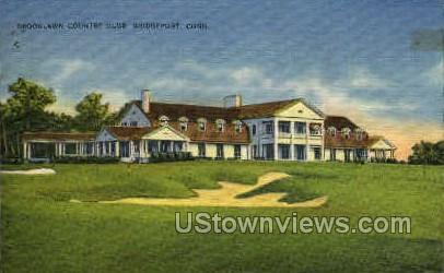 Brooklawn Country Club - Bridgeport, Connecticut CT Postcard
