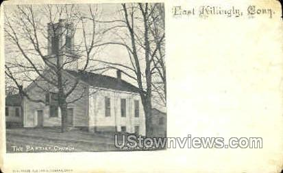 Baptist Church - East Killingly, Connecticut CT Postcard
