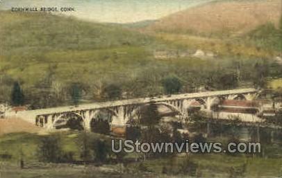 Cornwall Bridge - Connecticut CT Postcard