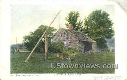 Abandoned Farm - Colebrook, Connecticut CT Postcard