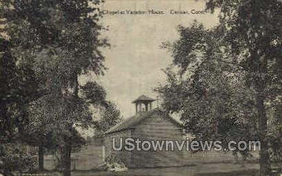 Chapel at Vacation House - Canaan, Connecticut CT Postcard