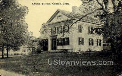 Church Terrace - Canaan, Connecticut CT Postcard