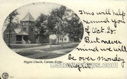 Pilgrim Church - Canaan, Connecticut CT Postcard