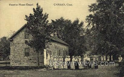 Vacation House Chapel - Canaan, Connecticut CT Postcard