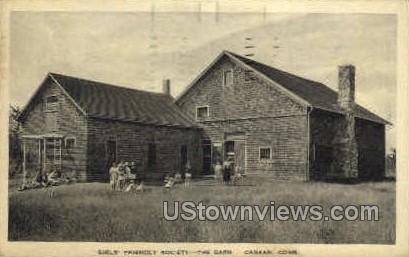 Girl's Friendly Society Barn - Canaan, Connecticut CT Postcard